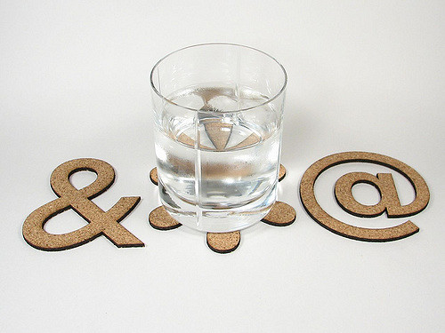 Cork coasters photo by Lenore M. Edman. License: CC BY 2.0.