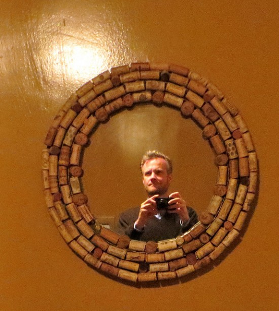 Matted cork mirror photo by Torbakhopper. License: CC BY 2.0.