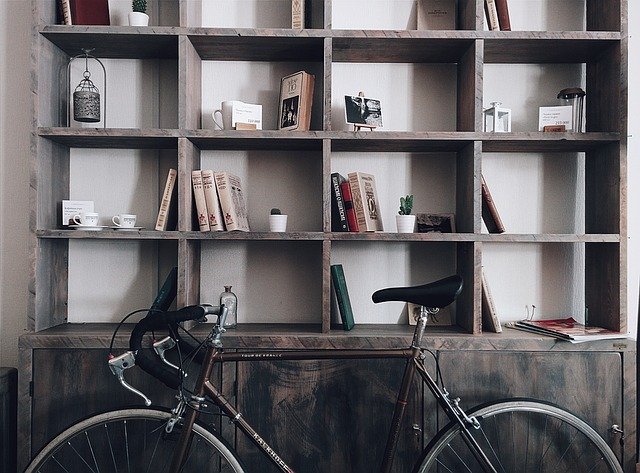 Bicycle Shelves Storage